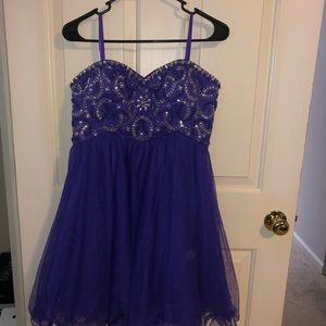 Purple Prom/Cocktail Dress